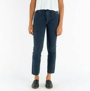 NWT AGOLDE Riley Hi Rise Straight Crop Jeans 31,32